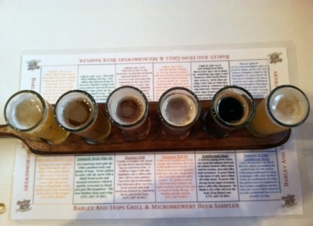 Barley and Hops sampler